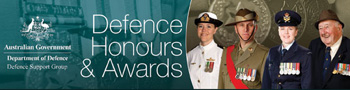 Defence Honours and Award